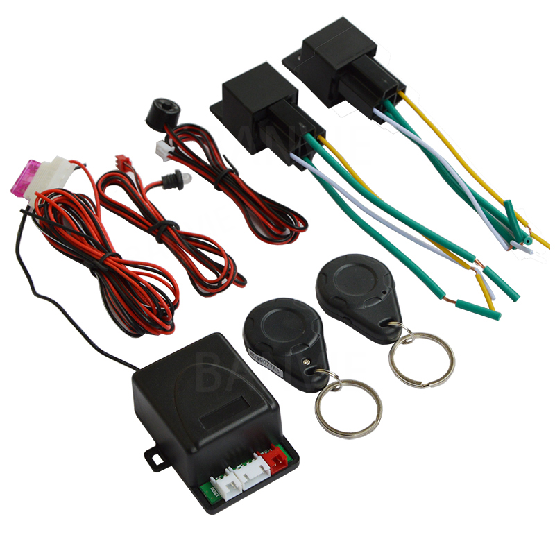 Anti-hijacking Immobilizer RFID Hidden Car Lock system with Automatic owner ID Recognization Anti-robbery cut off oil and power