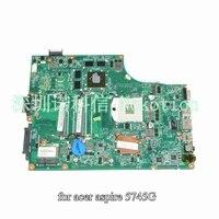 NOKOTION MBR6L06001 MB. R6L06.001 Pour acer aspire 5745 5745G Mère D'ordinateur Portable DA0ZR7MB8F0 HM55 GeForce GT330M OPTION DDR3