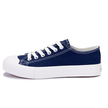 White women's casual canvas shoes