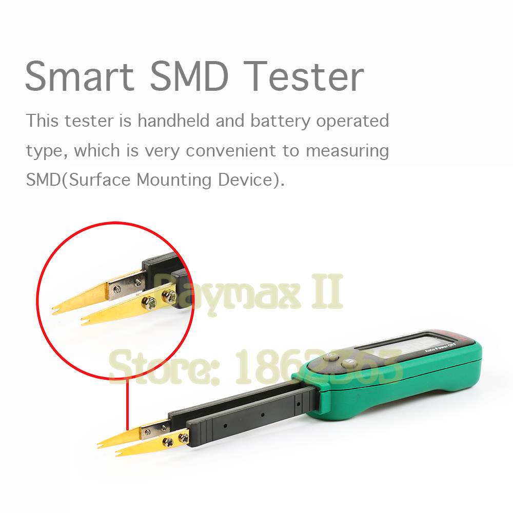 Mastech MS8910 Smart SMD RC Resistance Capacitance Diode Tester Multi Meter цена