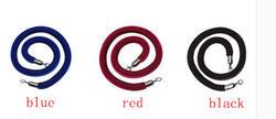Шнуры перила fendce красная бархатная сигнальная линия барная веревка