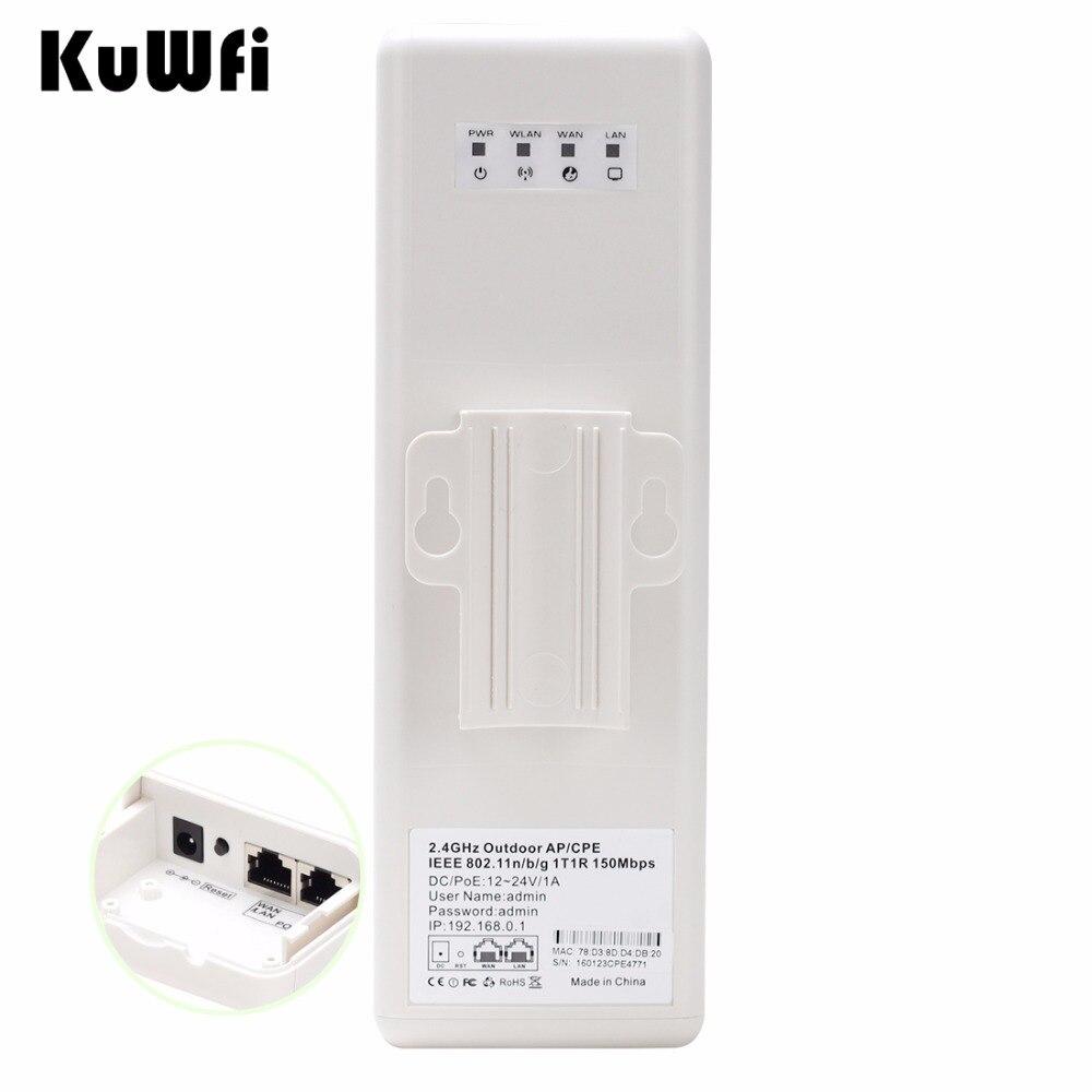 2 км Long Range Беспроводной Открытый CPE WI-FI маршрутизатор 2,4 ГГц 150 Мбит/с WI-FI Ретранслятор Extender маршрутизатор Открытый AP мост маршрутизатора клие...