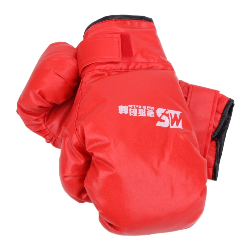 2 style Professional Boxing Gloves MMA Muay Thai Gym Punching Bag Breathable Half/Full Mitt Training Sparring Kick Boxing Gloves 20
