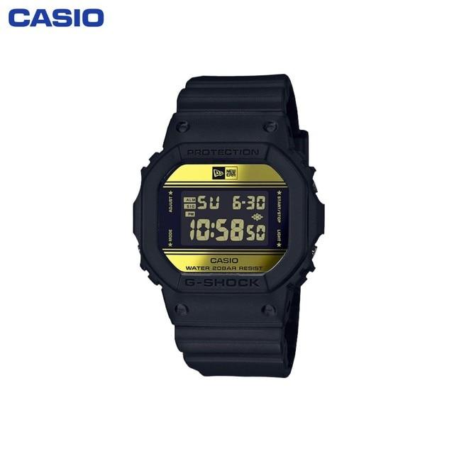 Наручные часы Casio DW-5600NE-1ER мужские электронные на пластиковом ремешке