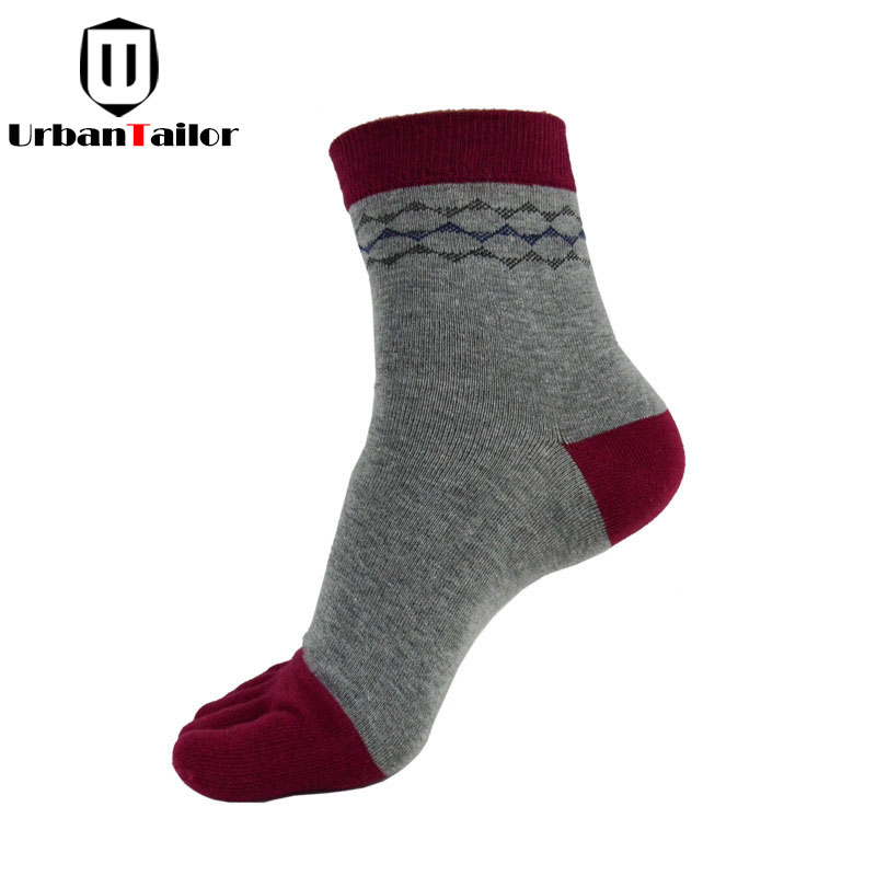 Brand Men Five Toe Socks Male Casual Combed Cotton Funny Socks Happy Warm Buisiness Socks High Quality Socks