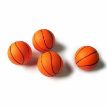 6.3cm Squeeze Soft Foam Ball Squeezing Balls Basketball Orange Hand Wrist Exercise Outdoor Games Beach Sport Ball Toys