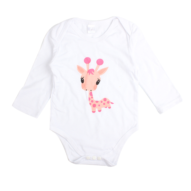 Cute Cartoon 3PCS Rompers+Hat+Pants Baby Boys & Girls