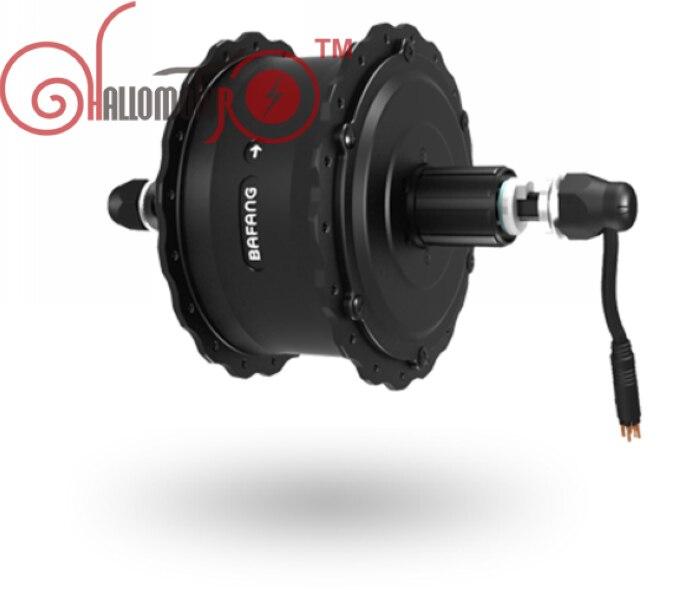 EU DUTY FREE ConhisMotor/Bafang 36V 48V 500W Brushless Geared Rear Cassette Fat Tire Hub Motor Dropout 175mm 190mm Waterproof