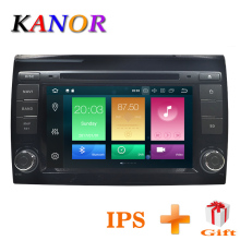 KANOR Car Multimedia player Android 8.0 GPS 2 Din Car Autoradio For Fiat Bravo 2007 2008 2009 2010 2011 2012 CANBUS 4 GB RAM FM