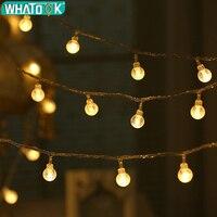 Venta 100M 800 LED luces de cadena de Navidad lámpara de Exterior resistente al agua para jardín