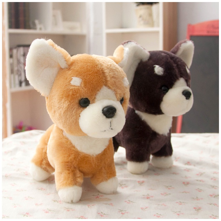 Japanese Toys And Gifts : New shiba inu dog japanese doll toy doge plush toycute