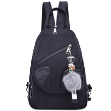 2019 New Shoulder Bag Female Oxford Cloth Backpack Female Bag Korean Version Of The Tide Fashion Wild Nylon Cloth Casual Bag