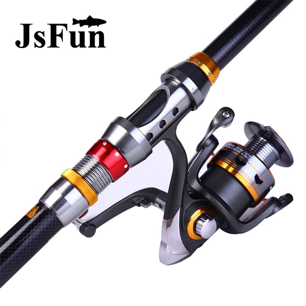 Jsfun fishing reel and rod set for Fishing rod set