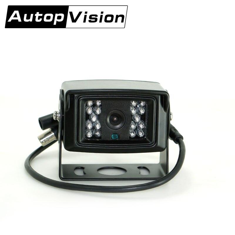Güvenlik ve Koruma'ten Gözetim Kameraları'de AV 760 AHD 1080 P IR gece görüş su geçirmez araba güvenlik AHD kamera OTOBÜS TAKSI OKUL ARABA OFIS 1080 P AHD KAMERA