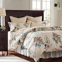 アメリカのカントリースタイル鳥寝具セットロマンチックな布団カバークイーンフルサイ