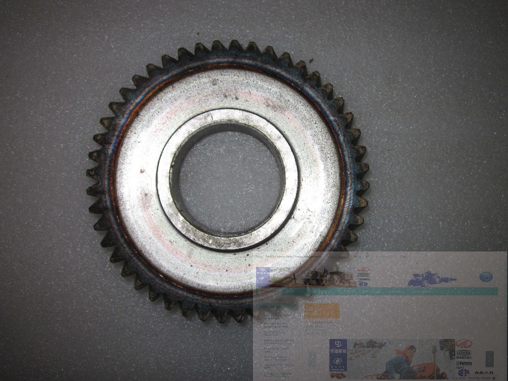 Jiangdong JD490BT JD495BT for tractor like Jinma, Luzhong series tractor, the idle gear, part number: JD2115.3-6 laidong km4l23bt for tractor like luzhong series set of piston groups with gaskets kit including the cylinder head gasket