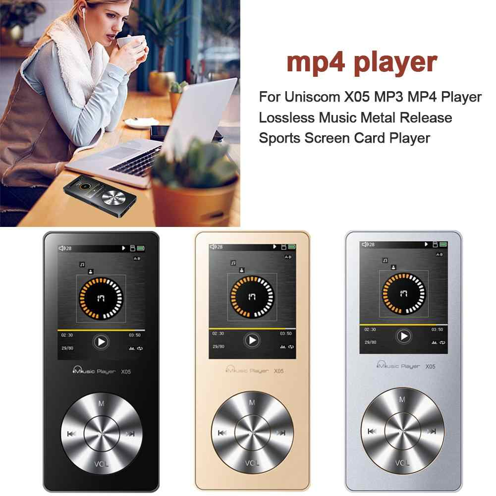 For Uniscom X05 MP3 MP4 Player Lossless Music Metal Release Sports Screen Card Player