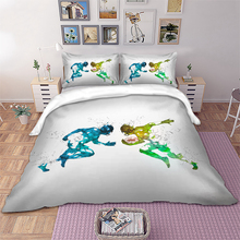 Rugby Bedding set sports Duvet Cover Pillowcases Twin Full Queen King Size bed linen 3pcs new
