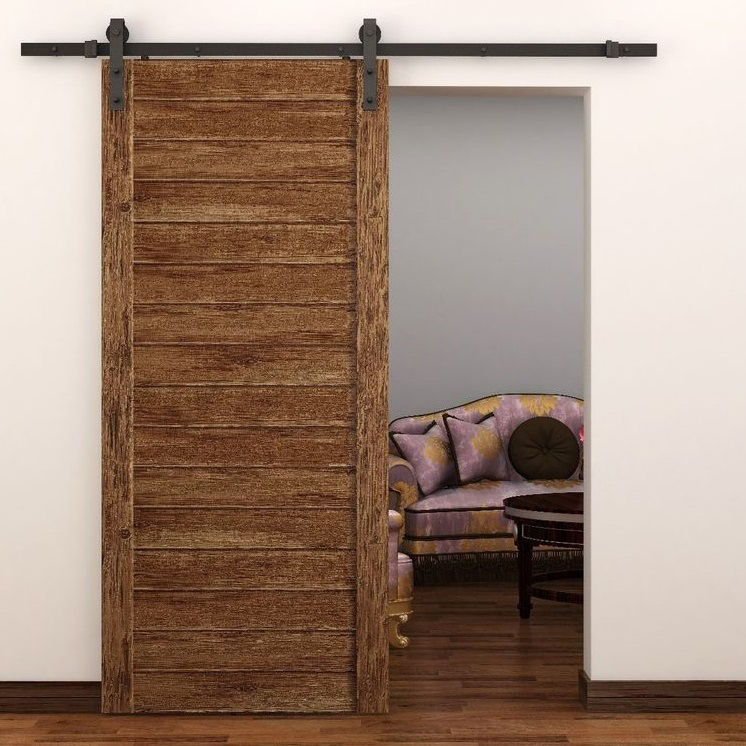 6.6ft hanging rail sliding door BLACK(China (Mainland)) & Compare Prices on Sliding Rail Door- Online Shopping/Buy Low Price ... Pezcame.Com