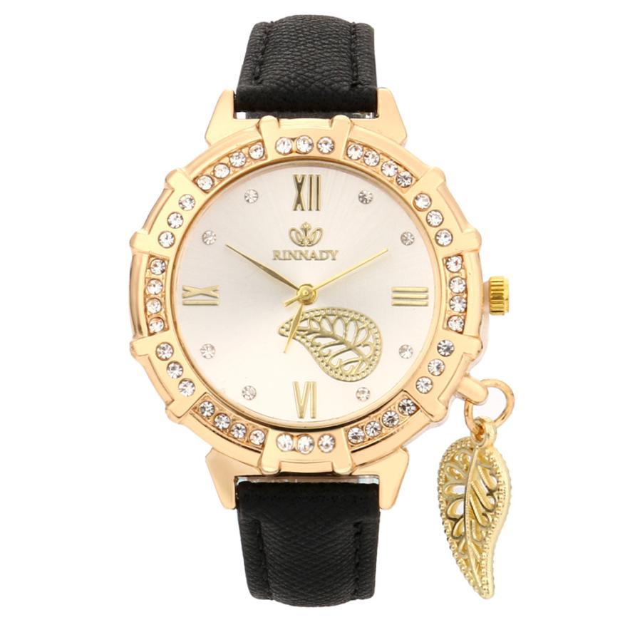 Señoras Renacimiento FemeninoPara Reloj Amante Moda Las La Relojes Lujo De Pulsera Regalo Hojas Mujeres dxBCoer