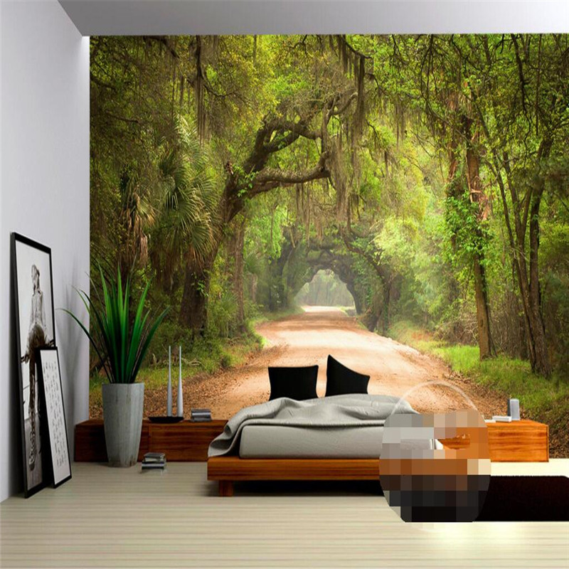 office backdrops. Home Decor Photo Backdrops Wallpaper For Living Room Road Trees Rattan Office Bathrooms Hotel Wall Mural Murals 3d Paper-in Wallpapers From I