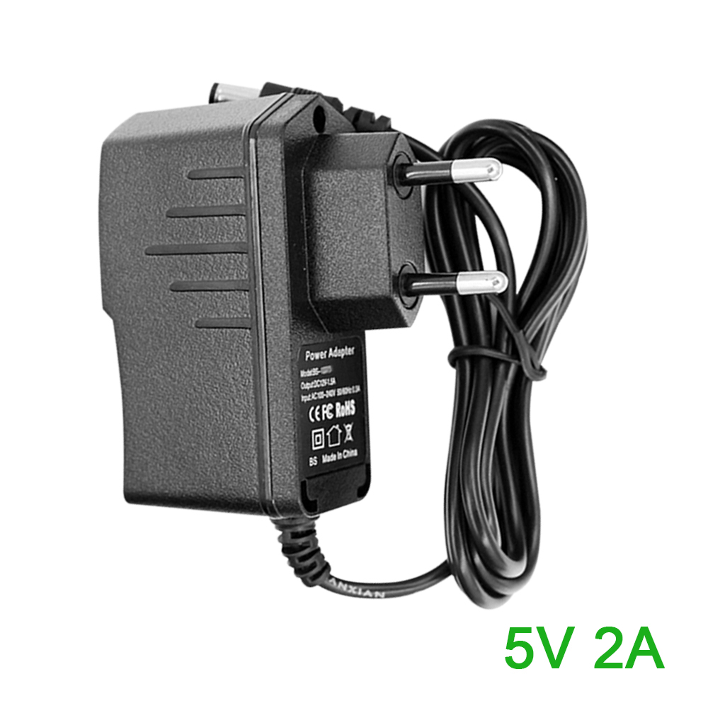 Power Adapter Supply DC 5V 2A/2000mA Output AC100 to 240V Input Wall Plug 5.5mm AC/DC Charger Power Supply Switching Adapter 5 pcs lot dc 5v power supply module adapter ac 90v 240 110v 220v to dc 5v 2000ma 7 5w power converter switching power supply