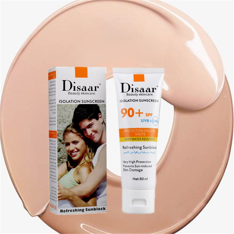 DISAAR Newest Isolation Sunscreen 100% Whitening CC Cream Concealer 80ml Isolation Makeup Moisturizing Oil-control Cosmetic