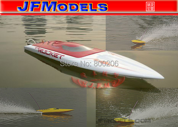 Strong top-Brushless Electric RC Boat rocket boat JF-TF1111