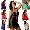 Hot 2015 nuevas mujeres de gran tamaño sexy ropa interior de encaje Blanco, negro, verde, azul, rojo de la rosa, púrpura, rojo, más el Tamaño XL-4XL 26-7D