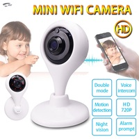 Firstshak Mini Wifi IP המצלמה אלחוטי Telecamera P2P אבטחת רשת טלוויזיה במעגל סגור 720 P פאן Tilt 2 דרך אודיו מרחוק Smartphone מצלמה