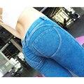 Freddy Calças Leggings Meados de Cintura Plus Size Push Up Leggings Hip Jeans Calças Musculação Elástica Para Freddy