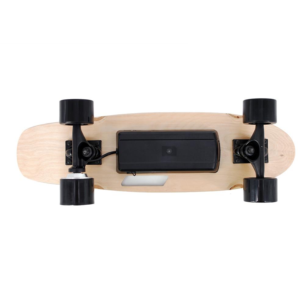 2019 Nouveau Électrique Planches À Roulettes Portable Électrique planche de skate avec Sans Fil De Poche télécommande pour Adultes et Adolescents - 4