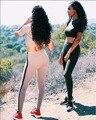Novo Estilo Verão 2017 As Mulheres Macacão Moda Bodycon Macacão de Duas Peças Macacão Sensuais Mulheres Macacão Combinaison Femme Terno