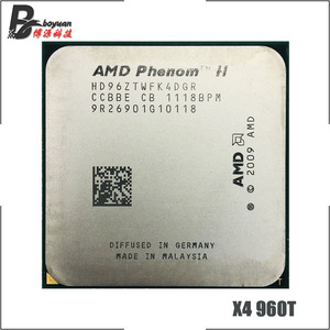 AMD Phenom II X4 960T 3.0 GHz Quad-core CPU Processor HD96ZTWFK4DGR Socket AM3
