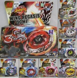 12pcs/lot 31 Style Free Shipping DHL Spinning Top Metal Fight BB 126 Flash Sagittario 230WD+LAUNCHER