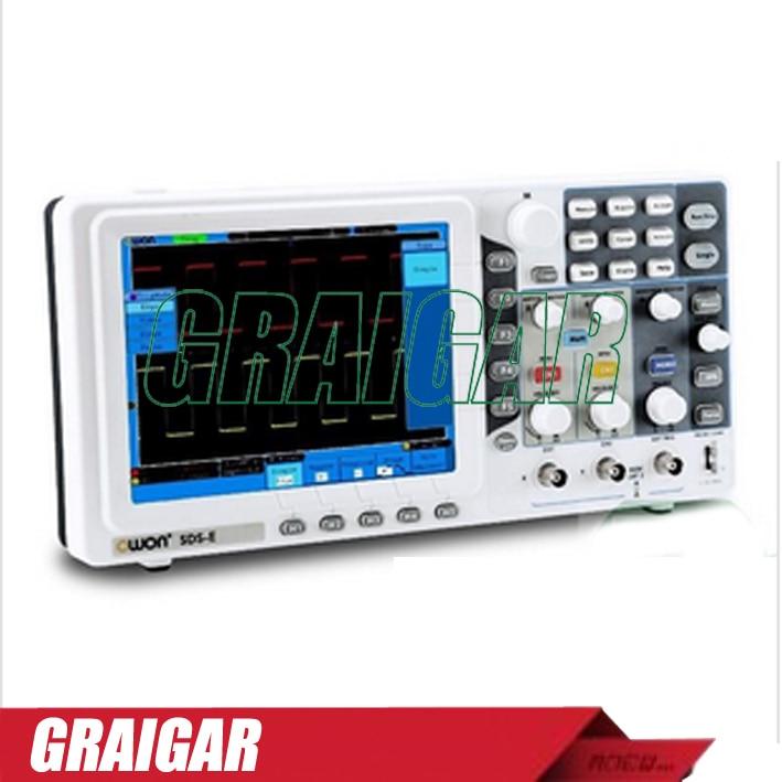 Portable font b digital b font oscilloscope SDS5032E Handheld oscilloscope 30MHz 500MS s 2 1 channels