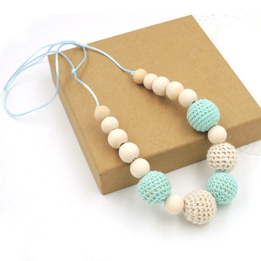 Drop shipping Mint kricka kräm krokett pärlor Tänder halsband - Barnomsorg - Foto 5