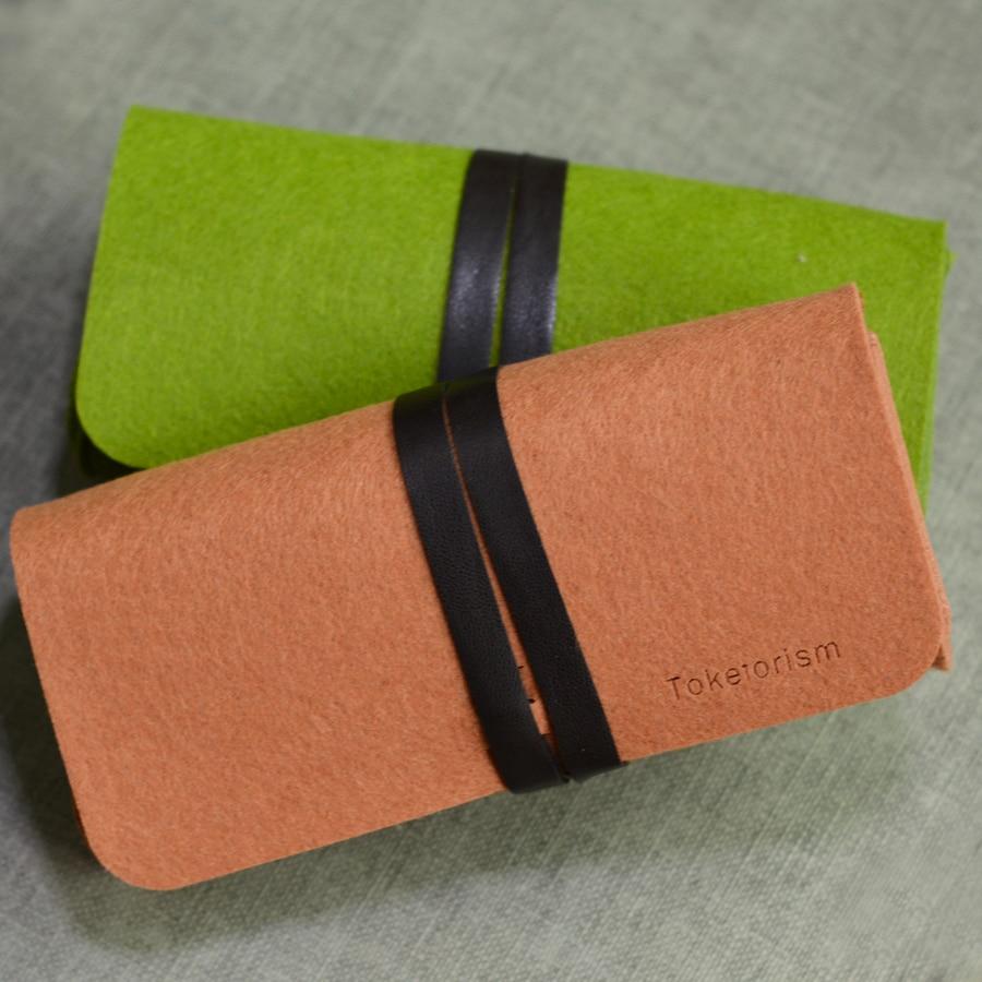 Eynək üçün Toketorism Retro Eynək çantası Ultralight portativ - Geyim aksesuarları - Fotoqrafiya 4