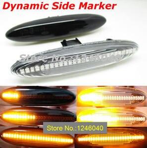 Image 2 - 2PCS Led Dynamische Seite Marker Blinker Licht Für Lexus IS250 IS350 SC430 Toyota MARK X REIZ CROWN UZZ40 highlander Camry 40