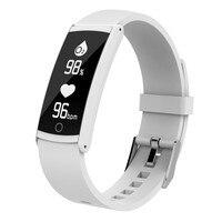 Horas de luxo Relógio Inteligente para iOS Android Freqüência Cardíaca Monitor de Pressão Arterial & Previsão do tempo De Detecção De Oxigênio Chamada Mensagem Push