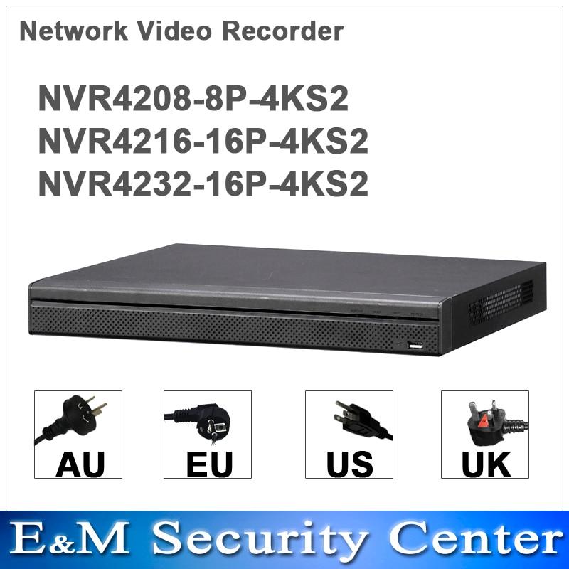 Dahua เดิมภาษาอังกฤษ NVR4208 8P 4KS2 NVR4216 16P 4KS2 NVR4232 16P 4KS2 เปลี่ยน NVR4208/16/32 8 จุด 8/16/32CH ภาษาอังกฤษ POE NVR-ใน เครื่องบันทึกวิดีโอกล้องวงจรปิด จาก การรักษาความปลอดภัยและการป้องกัน บน AliExpress - 11.11_สิบเอ็ด สิบเอ็ดวันคนโสด 1
