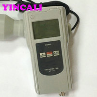Multifunction Tachometer AT 137PC High Accuracy Intelligent Tachometer RPM Meter Rotative Velocity Surface Speed Frequency Motor