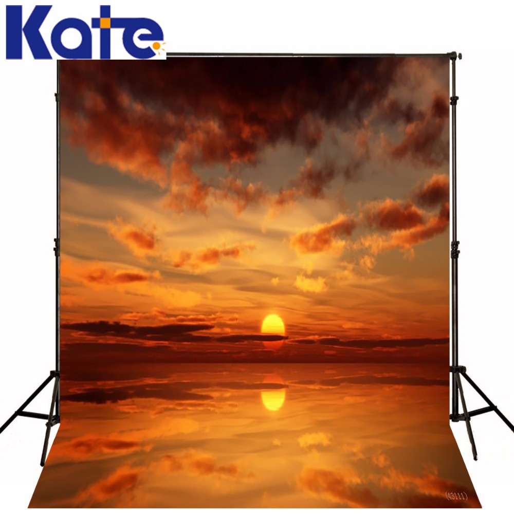 Kate Scenic Photography Backdrops Ocean Backdrop Wedding Background Cloth Seamless Photo For Studio Custom