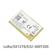 E32-400T20S 433MHz SX1278 LoRa Wireless Module 470MHz Wireless Serial Port UART Transceiver 2 pcs lot serial port sx1278 sx1276 868mhz lora spread spectrum 3000m wireless module