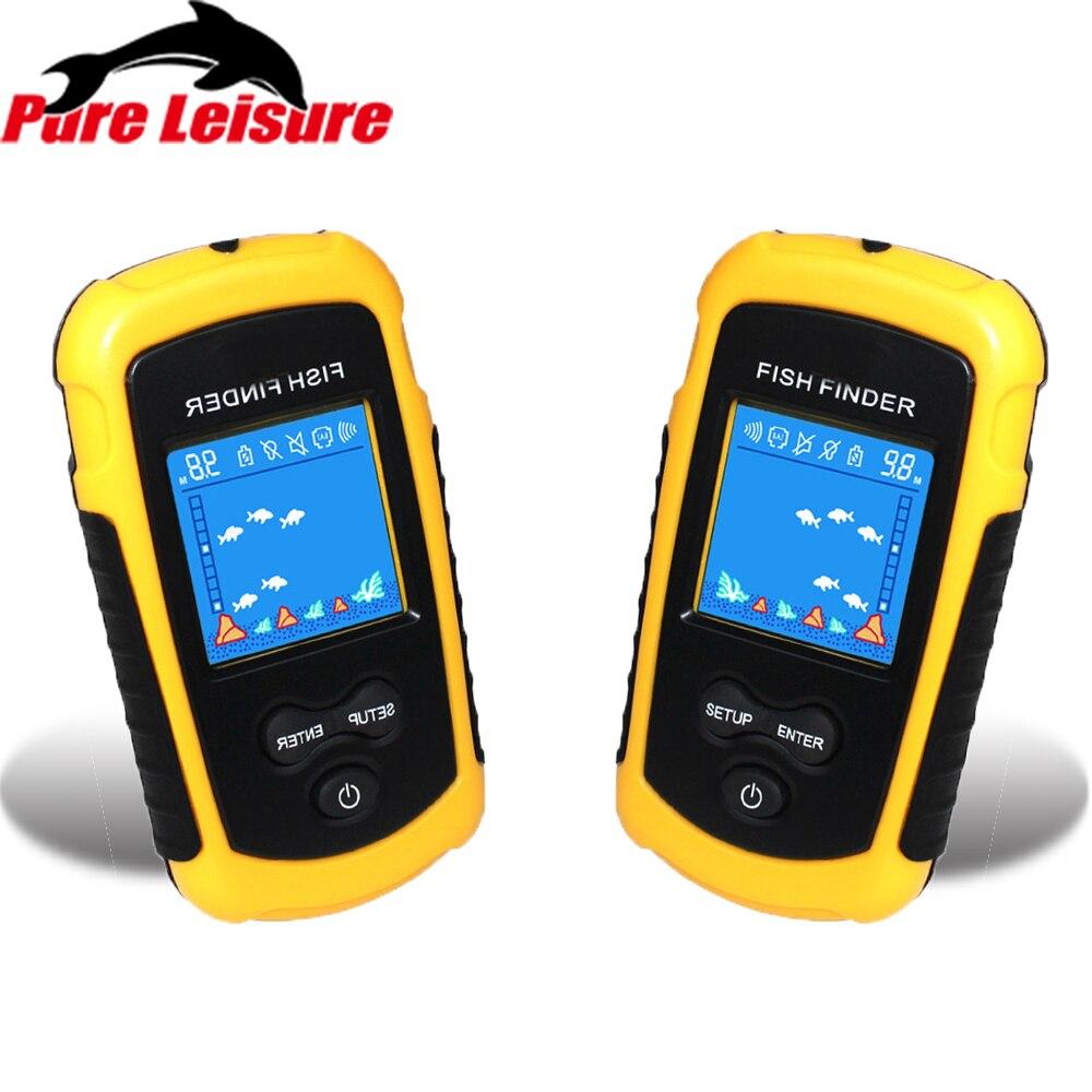 PureLeisure câble morsure Portable Outlife poisson trouveur équipement de Camping pêche leurre écho sondeur pêche trouveur alarme 100 M FF01