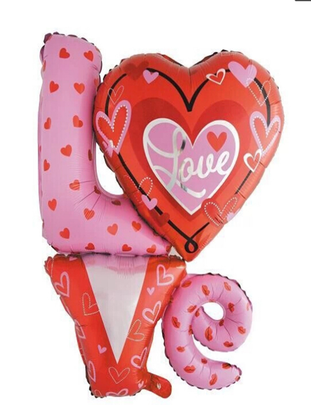 1pc Large I Love You Foil Helium Balloon Birthday Party Wedding ...