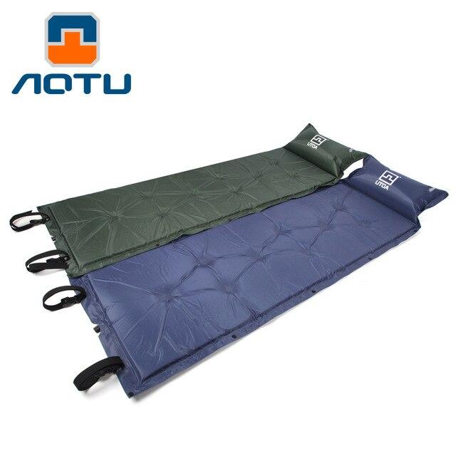 AOTU Spliced Moistureproof Self Inflatable Mattress Outdoor Camping  Sleeping Picnic Mat Mattress Bed Inflatable Mattress - Aliexpress.com : Buy AOTU Spliced Moistureproof Self Inflatable