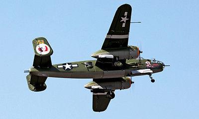 Scale Skyflight B25 Apache Princess Propeller RC ARF Plane Model Metal Retracts RC Airplane
