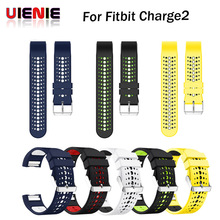 Ventilate Colorful watch Band for Fitbit Charge 2 Sport Silicone Band wrist Strap For Fitbit Charge2 Bracelet Smart Wristband цена в Москве и Питере