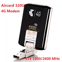 Unlocked Wifi 4g Lte Modem Aircard Sierra 320U 4G LTE Modem WIFI Card 100Mbps Lte 4g